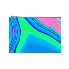 Aurora Color Rainbow Space Blue Sky Cosmetic Bag (large)  by Mariart