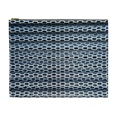 Texture Pattern Metal Cosmetic Bag (xl) by Nexatart