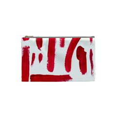 Paint Paint Smear Splotch Texture Cosmetic Bag (small)  by Nexatart