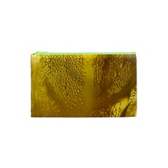 Beer Beverage Glass Yellow Cup Cosmetic Bag (xs) by Nexatart