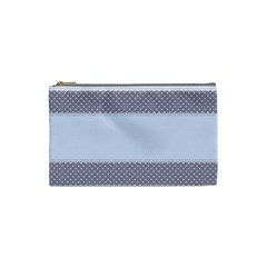 Blue Modern Cosmetic Bag (small)  by Nexatart