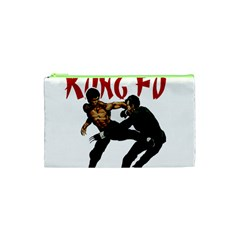 Kung Fu  Cosmetic Bag (xs) by Valentinaart