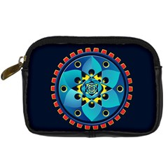 Abstract Mechanical Object Digital Camera Cases