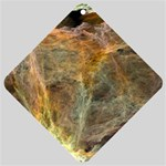 Slate Stone Fractal Earth Tone Car Window Sign