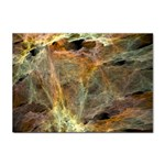 Slate Stone Fractal Earth Tone Sticker A4 (10 pack)