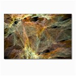 Slate Stone Fractal Earth Tone Postcard 4 x 6  (Pkg of 10)