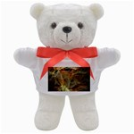 Slate Stone Fractal Earth Tone Teddy Bear
