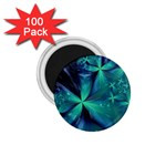 Turquoise Ice Crystal Fantasy 1.75  Magnet (100 pack)
