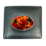Red Hellstorm Goth Punk Fractal Wallet