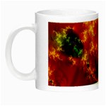 Red Hellstorm Goth Punk Fractal Night Luminous Mug