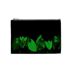 Tulips Cosmetic Bag (medium)  by ValentinaDesign