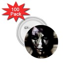 Gothic Girl in Computer Fantasy 1.75  Button (100 pack)