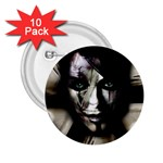 Gothic Girl in Computer Fantasy 2.25  Button (10 pack)
