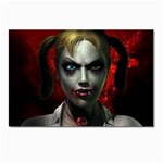 Gothic Blonde Vampire Goth Postcards 5  x 7  (Pkg of 10)