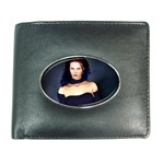 Gothic Girl Black and Blue Wallet
