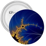 Blue Moon Mandelbrot Fractal Fantasy 3  Button