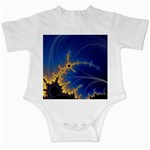 Blue Moon Mandelbrot Fractal Fantasy Infant Creeper