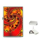 Burning Yellow Flame Fire Fractal Flip Top Lighter