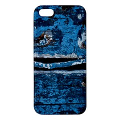 Blue Painted Wood          Samsung Galaxy Note 3 Leather Folio Case by LalyLauraFLM