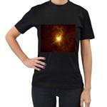 Rebirth in Brown Goth Punk Fantasy Women s Black T-Shirt