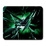 Broken Green Goth Metallic Glass Large Mousepad