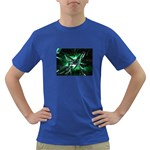 Broken Green Goth Metallic Glass Dark T-Shirt