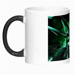 Broken Green Goth Metallic Glass Morph Mug