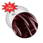 Metallic Goth Antipathy Abstract Art 2.25  Button (10 pack)