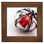 Metal Becomes Her Goth Ball Fantasy Framed Tile