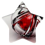 Metal Becomes Her Goth Ball Fantasy Ornament (Star)