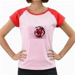Metal Becomes Her Goth Ball Fantasy Women s Cap Sleeve T-Shirt