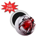 Metal Becomes Her Goth Ball Fantasy 1.75  Magnet (100 pack)