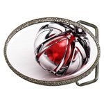 Metal Becomes Her Goth Ball Fantasy Belt Buckle