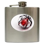 Metal Becomes Her Goth Ball Fantasy Hip Flask (6 oz)