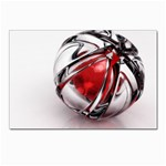 Metal Becomes Her Goth Ball Fantasy Postcard 4 x 6  (Pkg of 10)