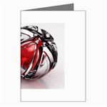Metal Becomes Her Goth Ball Fantasy Greeting Card