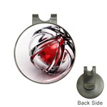 Metal Becomes Her Goth Ball Fantasy Golf Ball Marker Hat Clip