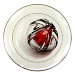 Metal Becomes Her Goth Ball Fantasy Porcelain Plate