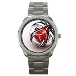 Metal Becomes Her Goth Ball Fantasy Sport Metal Watch