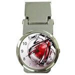 Metal Becomes Her Goth Ball Fantasy Money Clip Watch