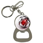 Metal Becomes Her Goth Ball Fantasy Bottle Opener Key Chain
