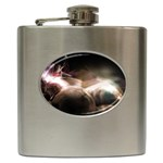 Goth Energy Explosion Fantasy Hip Flask (6 oz)