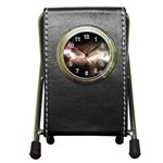 Goth Energy Explosion Fantasy Pen Holder Desk Clock