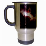 Goth Energy Explosion Fantasy Travel Mug (Silver Gray)