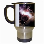 Goth Energy Explosion Fantasy Travel Mug (White)