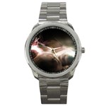 Goth Energy Explosion Fantasy Sport Metal Watch