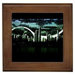 City of the Apocalypse Goth Night Framed Tile