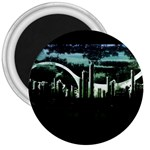 City of the Apocalypse Goth Night 3  Magnet