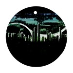 City of the Apocalypse Goth Night Ornament (Round)
