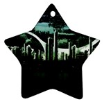 City of the Apocalypse Goth Night Ornament (Star)